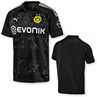 PUMA BVB Away Replica with Evonik Logo with Opel Logo - Maillot - Homme