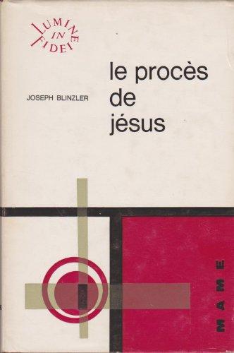 Descargar Libro Le proces de jesus de BLINZLER JOSEF