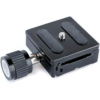 Quenox QRC1 Universal-Schnellkupplung (SK-Einheit) für Kugelneiger mit einem 3/8-Zoll-Außengewinde - Arca-kompatibel