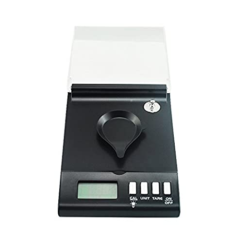 Denshine 0.001g x 30g Smart Wiegen High Precision Digital Schmuck Drogenwaage Goldwaage Teewaage Feinwaage Scale
