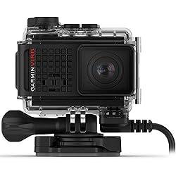 Garmin Virb Ultra 30Power Mount Bundle Action Camera 4K GPS, Wi-FI, Noir