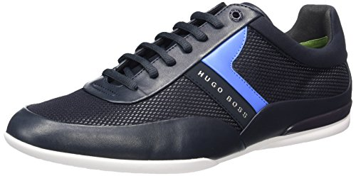 Boss Green Space_lowp_nyme 10197522 01, Sneakers Basses Homme Bleu (Dark Blue 401)