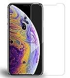 2 X iPhone Xs Max Schutzfolie, Beetop Panzerglas 3D Gehärtetem Glass 9H Härtegrad [Anti-Kratzen] [Einfaches Anbringen] Glas Folie Panzerfolie Für iPhone XS Plus iPhone Xs Max