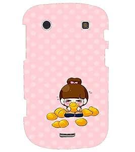 PRINTVISA Cute Girl Case Cover for BlackBerry Bold Touch 9900