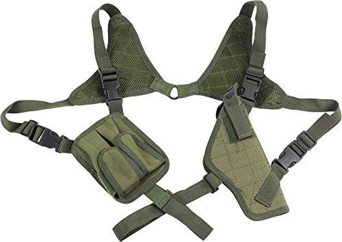 Pistolen Schulterholster mit Magazintaschen OLIV