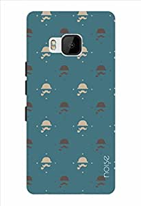 Noise Blue Gentlemen Printed Cover for HTC One M9