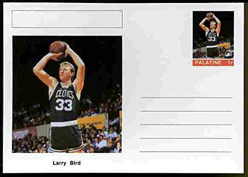 cheap for discount c1e53 19e7f Palatine (Fantasy) Personalities - Larry Bird (Basketball) Postal  Stationery Card unused and fine PERSONALITIES Sport Basketball JANDRSTAMPS