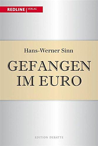 Buchseite und Rezensionen zu 'Gefangen im Euro' von Hans-Werner Sinn