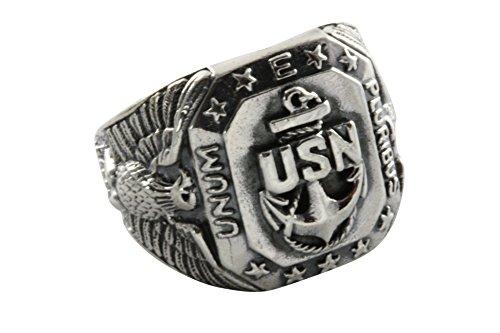 US-Navy United States US Marine Lautlose Jäger Siegelring Herrenring