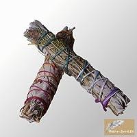 exklusives Räucherbündel aus Lavendel mit weißem Salbei / Medium lavender and white sage preisvergleich bei billige-tabletten.eu