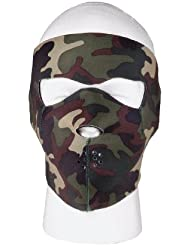 Rothco Reversible cara máscara - 2200, One Size, Camuflaje / negro
