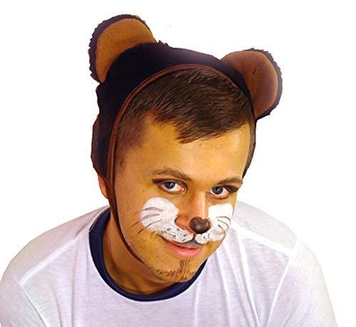 Faschingskostüm Bär Mütze mit Ohren Kappe Hut Bär Karneval Kostüme für Kinder älter ALS 9 Jahre, Herren Männer Frauen Festtage Größe L/XL Geschenk (Mann In Bären Kostüm)