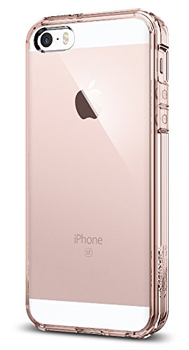 iphone-se-case-spigen-ultra-hybrid-air-cushion-rose-crystal-clear-back-panel-tpu-bumper-for-iphone-s