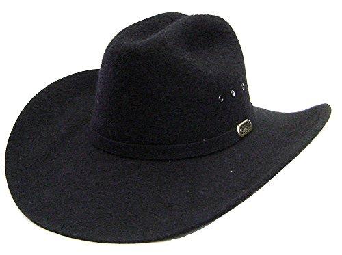 modestone-unisex-cattleman-wool-felt-sarah-coventry-cappello-cowboy-59-black