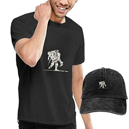 Thimd Wounded Warrior Project Dollars Herren Kurzarm T Shirt Baseball Cowboy Hut Set Schwarz
