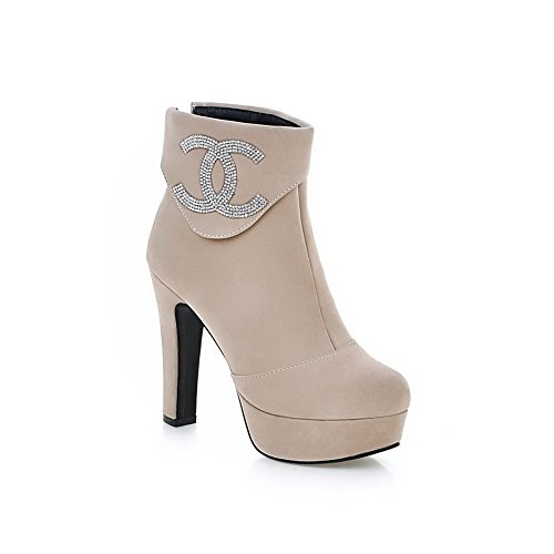 1to9-womens-glass-diamond-platform-back-zipper-beige-frosted-boots-65-uk