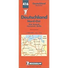 Michelin Karten, Bl.542 : Deutschland Nord-Ost (Michelin Map)