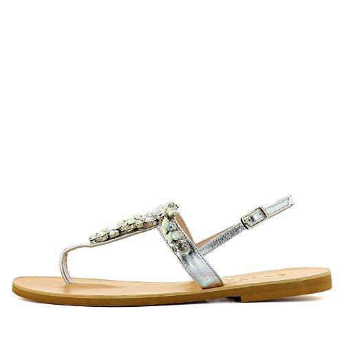 Evita Shoes  Greta, Sandales pour femme Argent