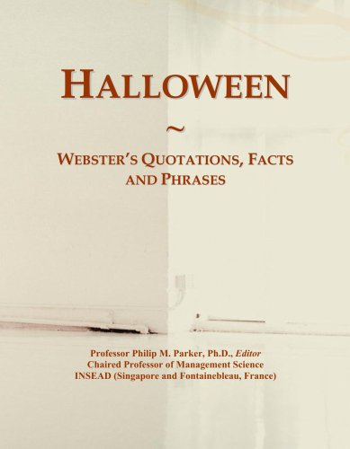 Quotations, Facts and Phrases (Halloween Parker)