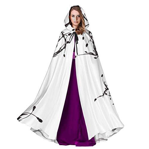 WYYWCY Konzeptionelle Darstellung Der Baum des Lebens Damen Umhang Umhang Für Erwachsene 59 Zoll Für Weihnachten Halloween Cosplay Kostüme
