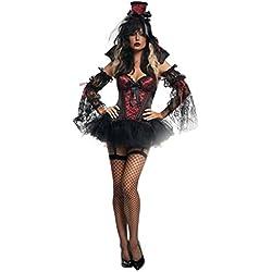Halloween/traje/para las mujeres/falda sexy/juego de rol de partido/traje de brujas/ el vampiro-A un tama?o