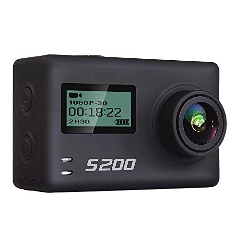 YUN CAMERA@ S200 Action Sport Kamera Ultra HD 4 Karat 20MP NTK96660 Chip Cam IMX078 Sensor WiFi Gyro Sprachsteuerung Mic GPS Touch LCD Scree S200 Kamera