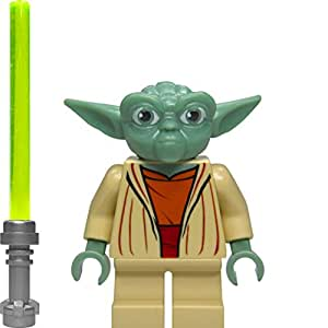LEGO Star Wars: Maître Yoda Mini-Figurine Avec Vert Lightsaber