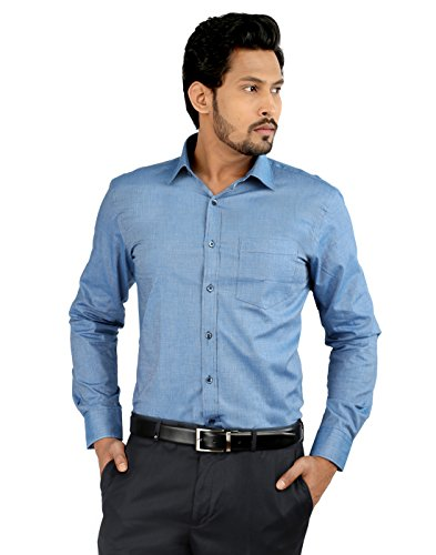 Oxemberg Men's Cotton Formal Shirt
