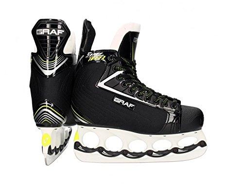 Graf Super G103 V3 Skate mit T - Blade System , Weite :E = wide;Größe:8.5 = 42 2/3