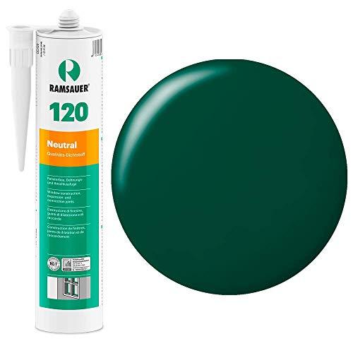 Ramsauer 120 Neutral 1K Silikon Dichtstoff 310ml Kartusche (Moosgrün) - Gas-wasser-heizung-teile