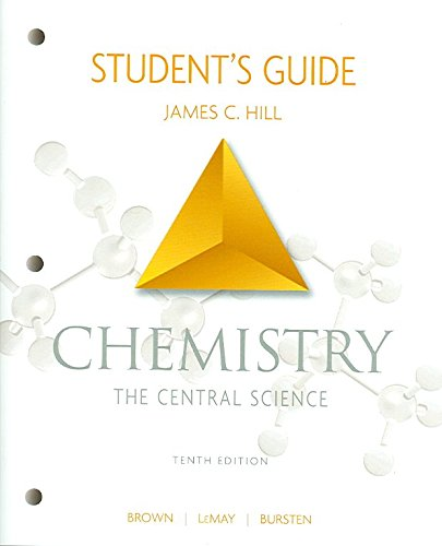 [(Chemistry: Student's Guide)] [By (author) James C. Hill ] published on (February, 2005)
