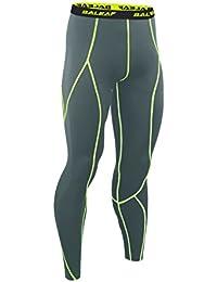 baleaf Maillot de course à pied Fitness de couche de base de compression pour femme