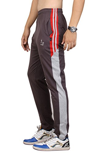 vego men's Steel cotton Track pant (HP-555-Steel-32)