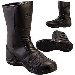 Botas para motocicleta BOLT R45, para turismo, impermeables, urbanas, para deportes, botas de cuero para hombre y mujer, XXS
