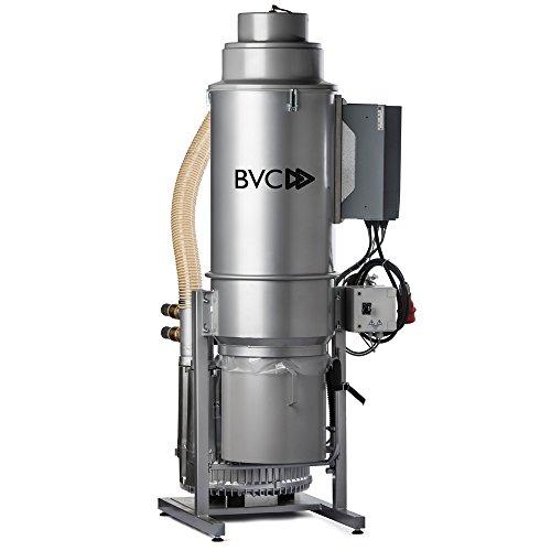 BVC INDUSTRY 4000 Watt ZENTRALSTAUBSAUGER- Ideal für den Einsatz in Industrie und Fertigung, Fahrzeugaufbereitung, Lackiererei, Altenpflegeheimen, Hotels und anderen gewerblichen Immobilien