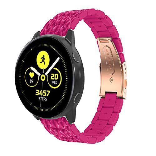 atch Active Armband,12shage 175mm Uhrenarmband Schnellspanner Ersatzband Metall Fitness Zubehö ()