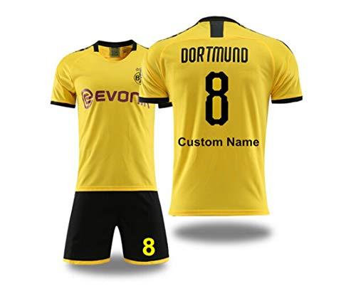 Kundengebundene Fußballuniformen und -kurzschlüsse Fußball entspricht neuen Jahreszeit personalisierten Fußballuniformen für Kindererwachsene jugendlich Jungengewohnheitsnamen und -zahlen