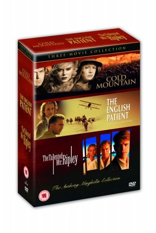 Anthony Minghella Triple: Cold Mountain / The Talented Mr Ripley / The english Patient [UK Import]