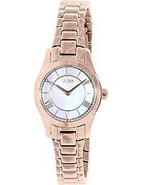 3ef1cbca227d Hugo Boss Reloj analogico para Mujer de Cuarzo con Correa en Acero  Inoxidable 1502378