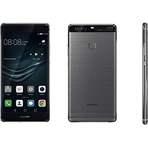 Huawei P9 Smartphone portable débloqué 4G (Ecran: 5,2 pouces - 32 Go - Double Nano-SIM - Android) Gris