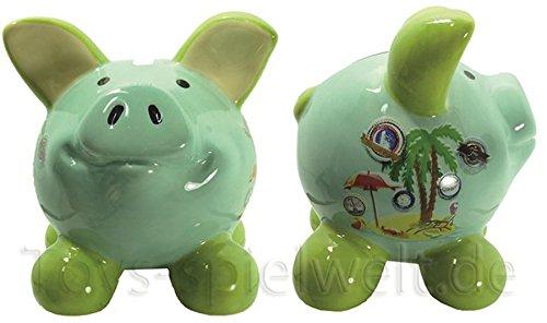 Swiggie Sparschwein Glücksschweinchen Urlaubskasse Spardose 8,5 cm 13 cm 15,5 cm: Größe: 08,5 cm