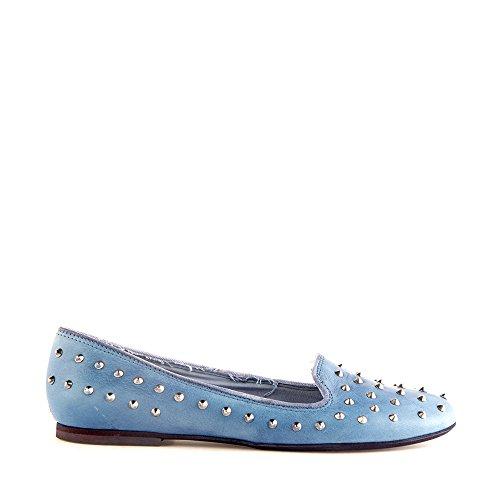 Felmini - Damen Schuhe - Verlieben Lisboa 7951 - Ballerina Schuhe - Echte Leder - Blau - 0 EU Size Blau