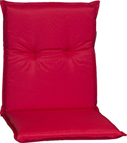 Beo Gartenstuhlauflage Polster Wasserabweisend für Niederlehner PY305 Rot 100% Polyester
