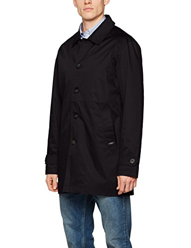Brandit James Men, Trench Coat Homme Schwarz (Schwarz (Black 2) 2)