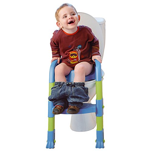 Funny Toilettentrainer Kiddyloo blau/grün - 3