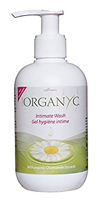 Organyc Intimate Wash With Chamomile Oil & Extracts 250ml from ORGANYC