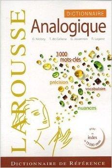 Dictionnaire analogique de Georges Niobey,Thomas de Galiana,Guy Jouannon ( 16 aot 2007 )