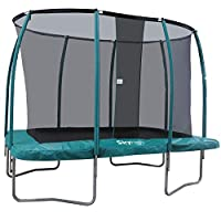 Skyhigh 7ft x 10ft Rectangular Trampoline with Enclosure. Superior and Expressive Bounce which doesn