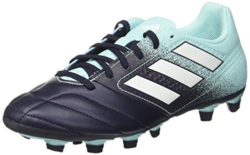 adidas Ace 74 Fxg, Chaussures de Football Homme Multicolore (Energy Aqua /ftwr White/legend Ink )