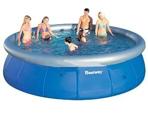 bestway 57023 fast set pool 457 x 107 cm garten. Black Bedroom Furniture Sets. Home Design Ideas